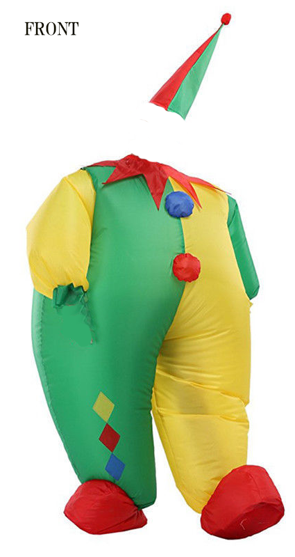 Inflatable Costume Clown type
